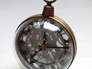 Делаем декоративный шар- часы. Ярмарка Мастеров - ручная работа, handmade.