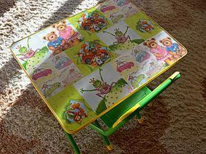 Обновление детского столика с помощью любимого декупажа. Ярмарка Мастеров - ручная работа, handmade.