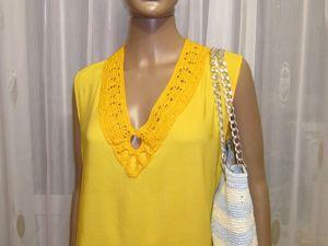 Стильный тандем — шитье и вязание. Ярмарка Мастеров - ручная работа, handmade.