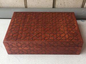 Декорируем деревянную шкатулку в технике выжигание (пирография). Ярмарка Мастеров - ручная работа, handmade.