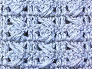 Вяжем красивый узор для пледа, снуда и шарфа. Ярмарка Мастеров - ручная работа, handmade.