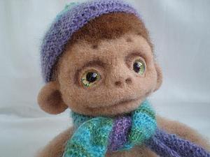 Валяем обезьянку. Ярмарка Мастеров - ручная работа, handmade.
