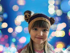 Вяжем повязку на голову для девочки: видеоурок. Ярмарка Мастеров - ручная работа, handmade.