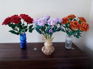 Аукцион на розы из фоамирана. Ярмарка Мастеров - ручная работа, handmade.