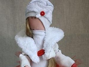 Мастер-класс для начинающих: шьем куклу Августу. Часть 1. Ярмарка Мастеров - ручная работа, handmade.