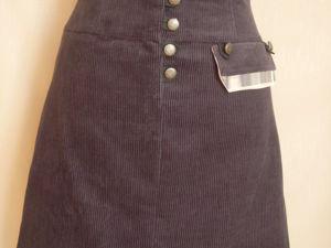 50% скидка на вельветовую юбку. Ярмарка Мастеров - ручная работа, handmade.