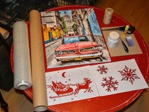 Упаковка картины в подарок. Ярмарка Мастеров - ручная работа, handmade.