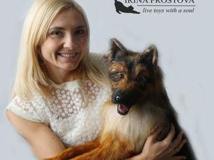 Немецкая овчарка — лучшая собака на планете!. Ярмарка Мастеров - ручная работа, handmade.