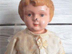Минерва, антикварная кукла с металлической головой. Ярмарка Мастеров - ручная работа, handmade.