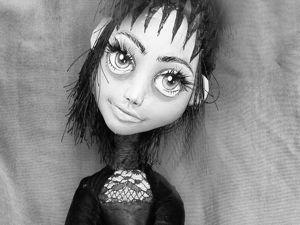 Подробный мастер-класс по созданию мистической куколки из трикотажа. Часть 2. Ярмарка Мастеров - ручная работа, handmade.
