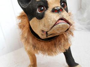 Вдохновляющая подборка антикварных игрушечных собачек. Ярмарка Мастеров - ручная работа, handmade.
