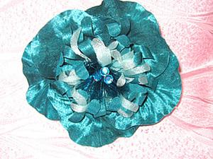 Цветы из ткани без применения булек(только руками). Ярмарка Мастеров - ручная работа, handmade.