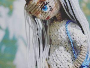 Кукла крючком. Ярмарка Мастеров - ручная работа, handmade.