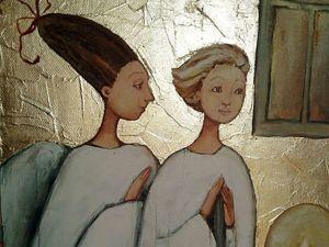 Акция одного дня на Двух ангелов!. Ярмарка Мастеров - ручная работа, handmade.