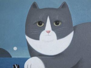 Смешные и любопытные кошки в работах Martin Leman. Ярмарка Мастеров - ручная работа, handmade.