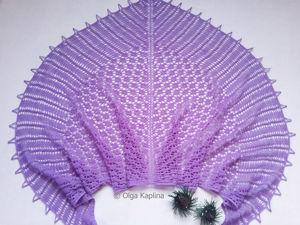 Приглашаю на совместное вязание шали. Ярмарка Мастеров - ручная работа, handmade.
