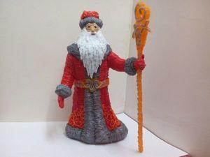 Создаем 3D-ручкой объёмного Деда Мороза. Часть 2. Ярмарка Мастеров - ручная работа, handmade.