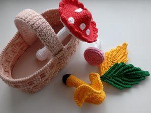 Рабочие процессы вязания. Ярмарка Мастеров - ручная работа, handmade.