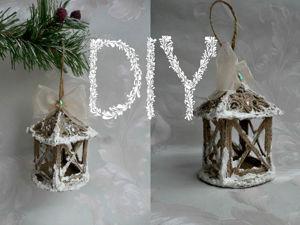 Создаем сказочный фонарь и снежную пасту своими руками. Ярмарка Мастеров - ручная работа, handmade.