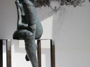 Задумчиво-тоскливые барышни Valerie Hadida. Ярмарка Мастеров - ручная работа, handmade.
