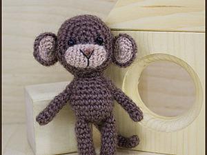 Мастер-класс: вяжем забавную обезьянку. Ярмарка Мастеров - ручная работа, handmade.