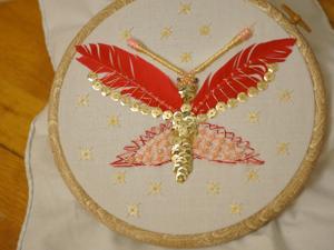 Вышиваем знаменитую бабочку с обложки «Point de croix et autres secrets de broderie». Ярмарка Мастеров - ручная работа, handmade.
