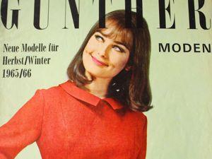 Gunther Moden -журнал мод -9 /1965. Ярмарка Мастеров - ручная работа, handmade.