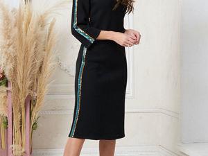 Аукцион на Эффектное  черное платье! Старт 3000 р.!. Ярмарка Мастеров - ручная работа, handmade.