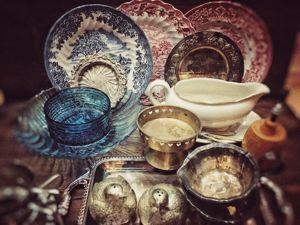 Поступление винтажной посуды. Ярмарка Мастеров - ручная работа, handmade.