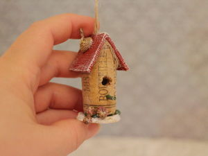 Let's Make Birdhouses of Wine Corks. Livemaster - handmade