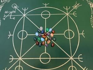 Рунический набор был изготовлен на заказ. Ярмарка Мастеров - ручная работа, handmade.
