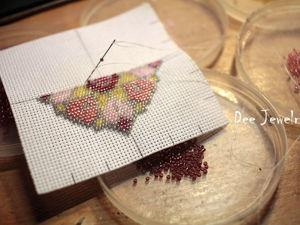 Вышивка бисером по канве: разбираем сложные моменты. Ярмарка Мастеров - ручная работа, handmade.