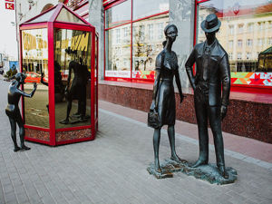 Памятники и скульптуры продавцам, покупателям и шопоголикам. Ярмарка Мастеров - ручная работа, handmade.