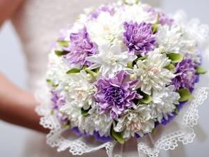 Создаем из фоамирана букет невесты. Ярмарка Мастеров - ручная работа, handmade.