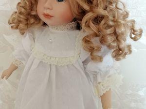 Куколка со сменным гардеробом № 1. Ярмарка Мастеров - ручная работа, handmade.