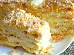 Как изготовить торт Наполеон в домашних условиях. Ярмарка Мастеров - ручная работа, handmade.