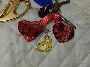 Шьем мягкий брелок-сердечко из лоскутков. Ярмарка Мастеров - ручная работа, handmade.