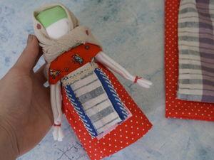 Как сделать куклу Кувадку. Ярмарка Мастеров - ручная работа, handmade.