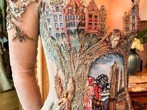 Платья как произведения искусства от дизайнера Sylvie Facon. Ярмарка Мастеров - ручная работа, handmade.