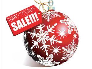 Новогодняя распродажа!!! скидки до 60 %. Ярмарка Мастеров - ручная работа, handmade.