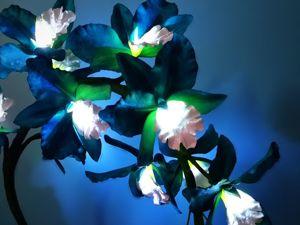 Орхидеи в бирюзовом цвете доступны к заказу!. Ярмарка Мастеров - ручная работа, handmade.