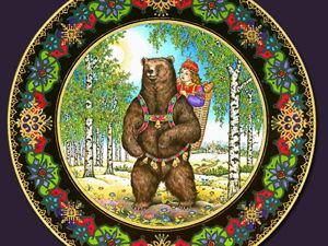 Геро Траут: Русские сказки на немецком коллекционном фарфоре. Ярмарка Мастеров - ручная работа, handmade.