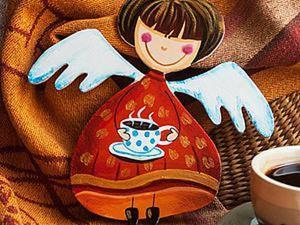 Создаем из фанеры «Кофейную Фею». Ярмарка Мастеров - ручная работа, handmade.