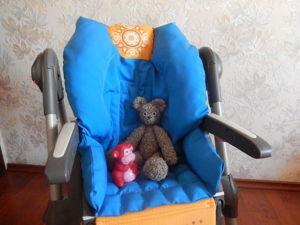 Мастер-класс: шьем чехол на детский стульчик. Ярмарка Мастеров - ручная работа, handmade.