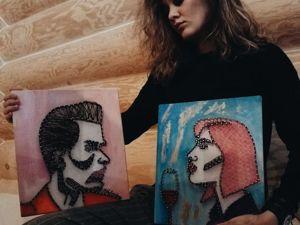 Мой опыт в Стринг-арт. Ярмарка Мастеров - ручная работа, handmade.