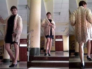 Видеоурок: вязание жакета Лало азиатским колоском с трёхцветным градиентом. Ярмарка Мастеров - ручная работа, handmade.