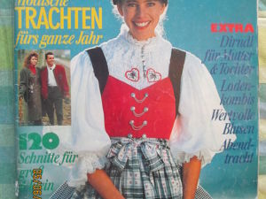Burda special национальная мода 1989 е966. Ярмарка Мастеров - ручная работа, handmade.