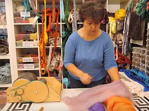 Игры с кардером: смешиваем шерсть разных цветов. Ярмарка Мастеров - ручная работа, handmade.