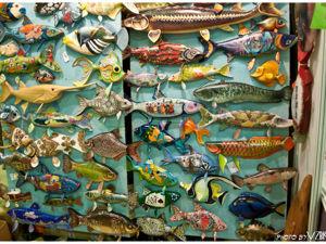 Деревянные рыбы. Владимир Кончиц. Ярмарка Мастеров - ручная работа, handmade.