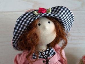 Шьём шляпку для куклы. Ярмарка Мастеров - ручная работа, handmade.